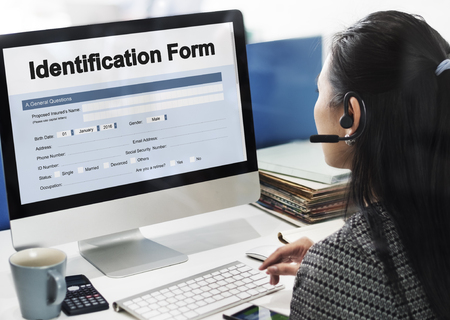 identification: Identification Form ID Taxpayer Document Concept