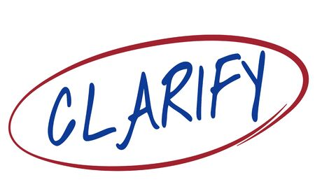 Clarify Clear Visible Simplicity Creativity Plain Concept Stock Photo