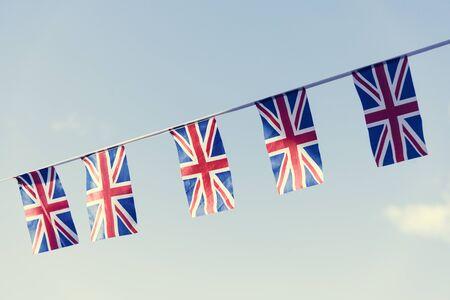 Concetto britannico National Flag Segno