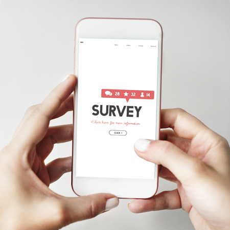 Survey Suggestion Opinion Review Feedback Concept Imagens - 66196327