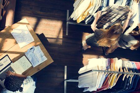 Negozio di abbigliamento Costume di stile di modo Concept Store