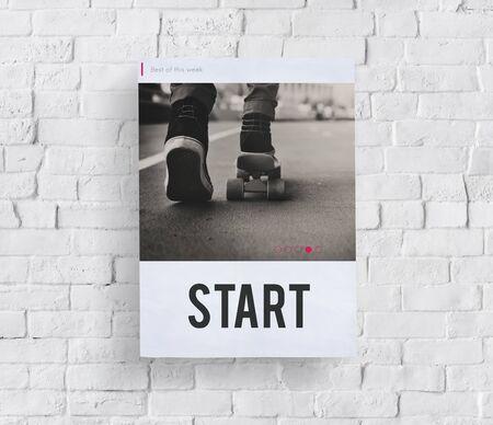 stimulus: Success Start Challenge Goal Concept