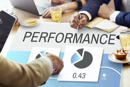 strategize: Progress Perfomance Marketing Planning Concept Stock Photo