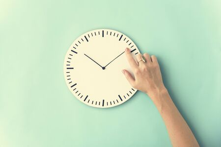 punctual: Time Punctual Second Minute Hour Concept Stock Photo