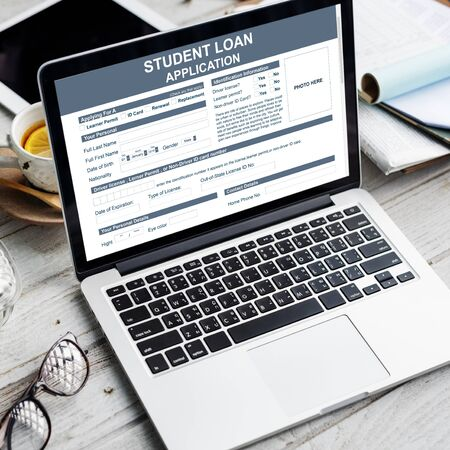 Student Loan Application Images & Stock Pictures. Royalty Free
