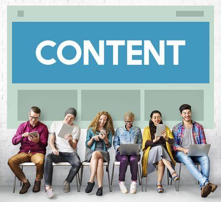 diversity domain: Web Design Template Copy Space Concept
