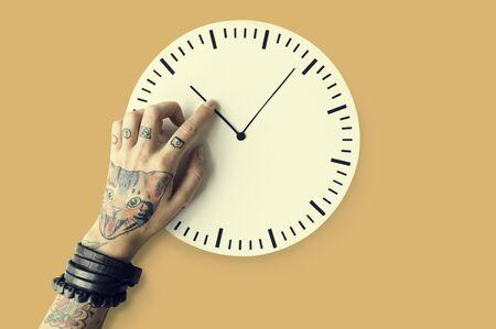 punctual: Tiempo tatuaje Horario Duración Puntual Segundo Concepto