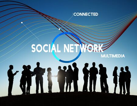 Technology Cloud Network Share Multimedia Concept Stock Photo