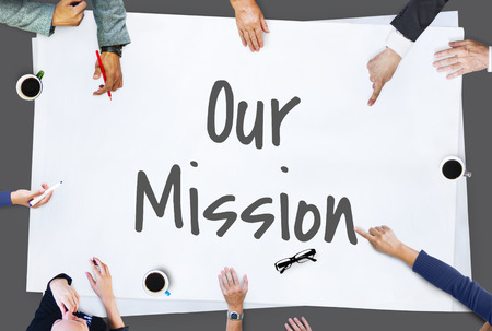 Our Mission Ideas Leadership Concept