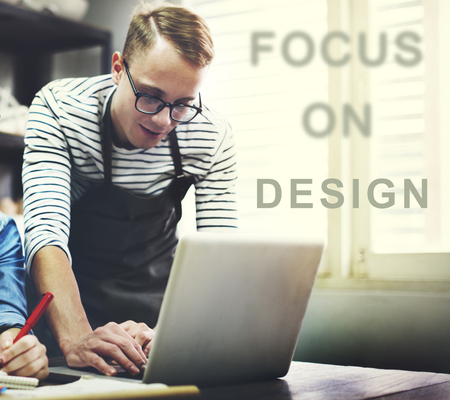focal point: Focus On Aim Concentrate Target Determine Concept Stock Photo