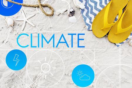 Climate Forecast Season Temperature Cloud Concept