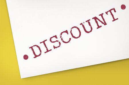 consumerism: Discount Consumerism Price Promotion Graphic Concept