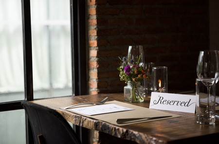Restaurant Chilling Out Classy Lifestyle voorbehouden Concept