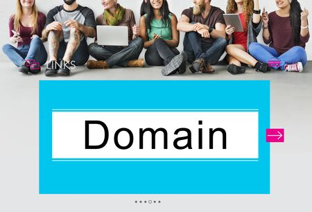 diversity domain: HTTP WWW Website Links Search Box Graphic Concept