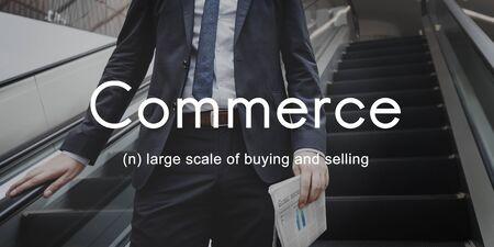 consumerism: Commerce Consumerism Shopping Selling Retail Concept Stock Photo