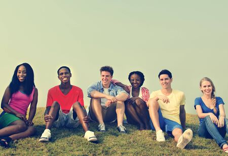 peers: Friendship Gathering Casual Allies Group Concept