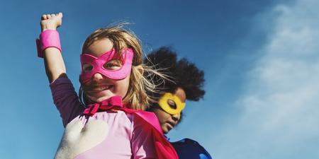 Children Childhood Super Hero Concept 版權商用圖片 - 66740546