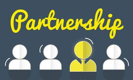 stimulus: Partnership Corporate Team Leader Font Concept