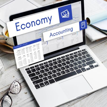 non stock: Stock Market Trade Business Analysis Investment Concept Stock Photo