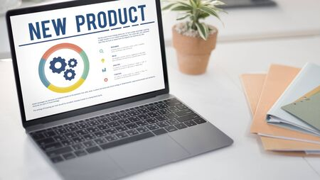 function key: New Product Development Success Concept Stock Photo