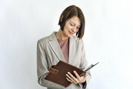 Businesswoman Executive Professional Success Concept Stock Photo