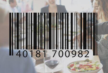 Bar Code Coding Computer Language Data Technology Label Concept