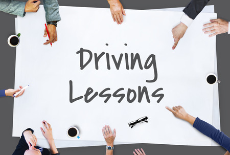 drivers license: Driving Lessons Drivers License Transportation Concept