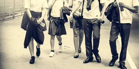 school teens: Education Students People Knowledge Concept