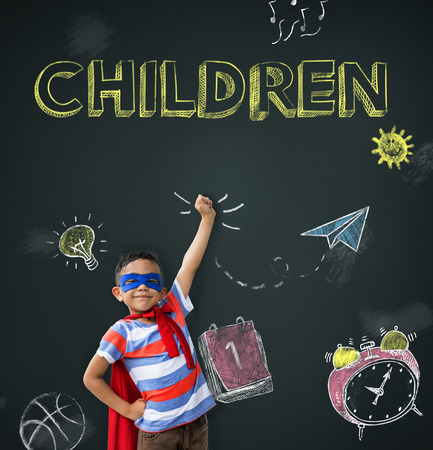 smart goals: Study Ideas Learn Kids Concept Stock Photo