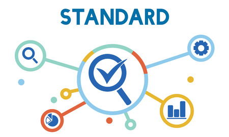 Quality management standard concept