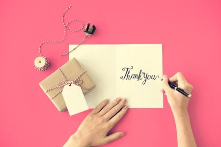 gratefulness: Thank You Thanks Gratitude Gift Appreciate Concept