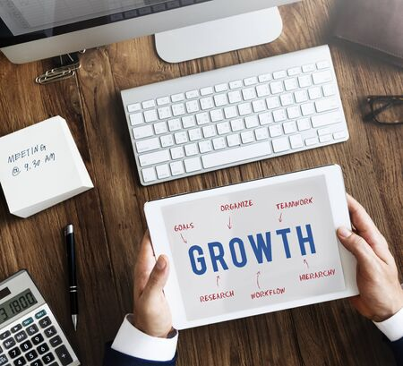 bpm: Growth Business Company Strategy Marketing Concept
