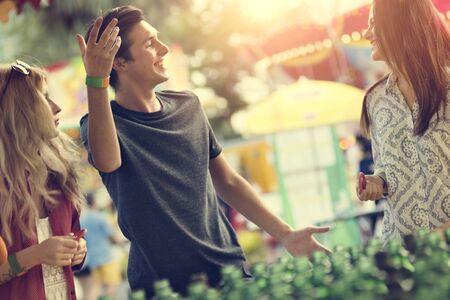 Amusement Carnival Theme Park Funfair Festival Concept