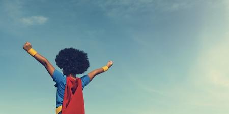 Little Boy Super Hero Concept Stock Photo - 67245865