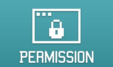 seclusion: Permission Privacy Protection Security Concept