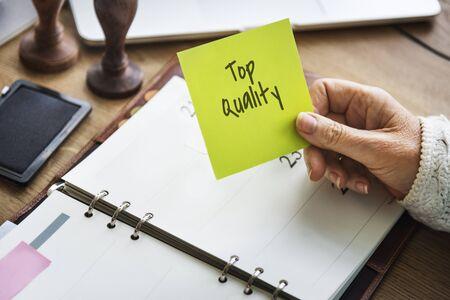 excellent: Top Quality Best Excellent Concept Stock Photo