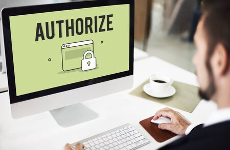 authorize: Authorize Protected Verification Privacy Security Concept