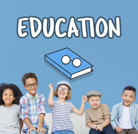 Children with education concept