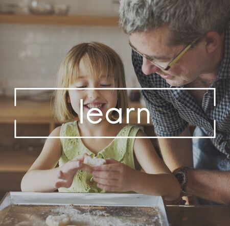 grand daughter: Knowledge Education Learn Intelligence Concept