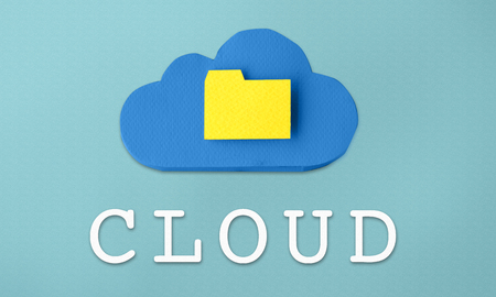 Cloud folder concept