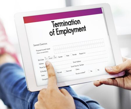 Termination Of Employment Images & Stock Pictures. Royalty Free