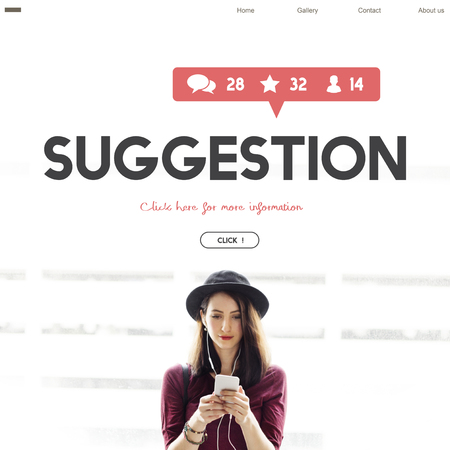 opinion: Survey Suggestion Opinion Review Feedback Concept