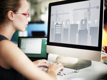 Business Development Innovation Expansion Concept Stock Photo