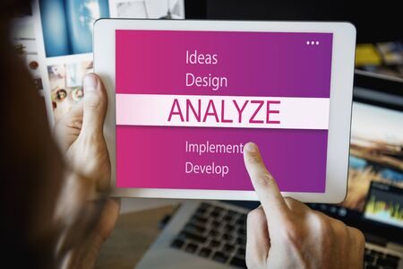 analyze: Analyze Research Plan Creativity Concept