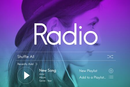 candid: Candid Music Streaming Multimedia Concept