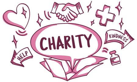 welfare: Support Donations Charity Volunteer Care Welfare Concept
