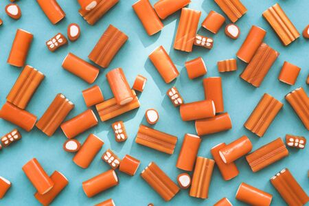 jello: Candy Colorful Jello Junk Kid Party Concept Stock Photo
