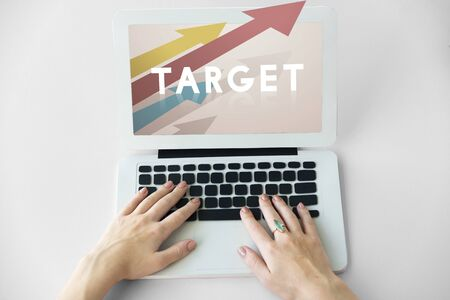 reminding: Target Improvement Challenge Icon Concept Stock Photo