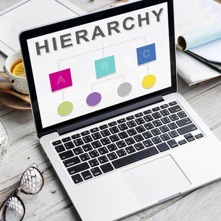 jerarquia: Líder Jerarquía del equipo Concepto Diagrama