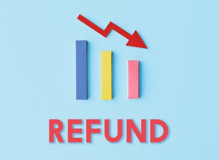 reduce risk: Recession Statistics Financial Failure Concept Stock Photo